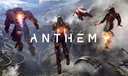 Anthem release zal uiterlijk maart 2019 zijn