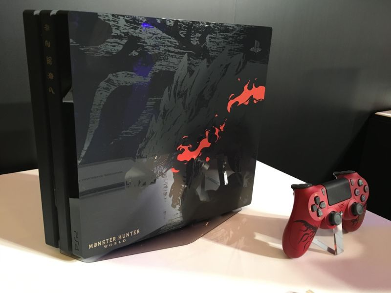 Monster Hunter World PS4 Pro Limited Edition