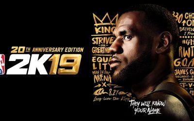 NBA 2K19 officieel aangekondigd, release datum bekend