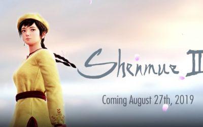 Nieuwe Shenmue 3 release datum bekendgemaakt