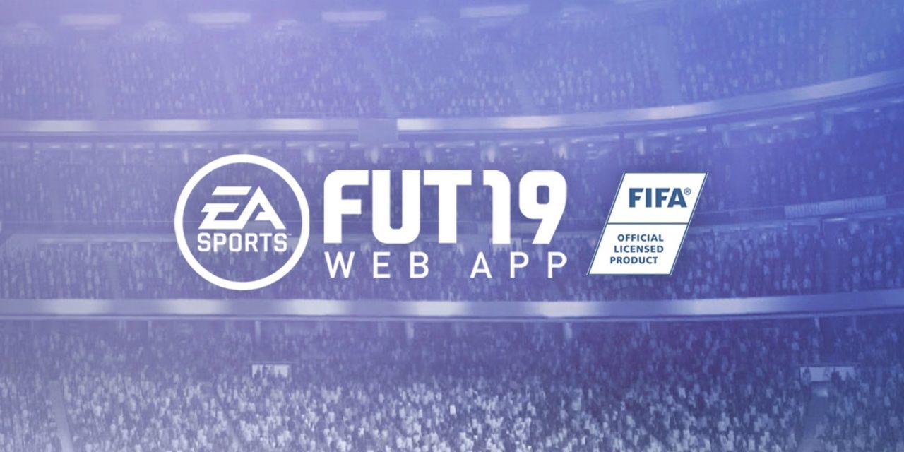 FIFA 19 Ultimate Team web app is nu beschikbaar!